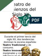 Teatro de Comienzos Del Siglo XX