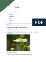 Controle Natural Praga Varias Receitas