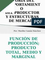 Teoria Del Productor y Estructuras de Mercado
