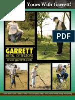 Garrett Metal Detectors Catalog 2010