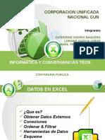 Actividad Datos en Excel