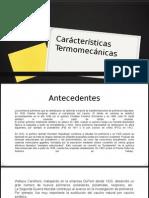 Caracteristicas Termomecanicas