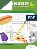 Word Puzzles Spelling Practice Workbook
