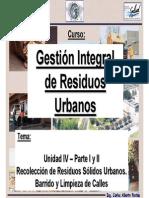 Recoleccion de Residuos y Barrido de Las Calles - Ing.carlosFontan