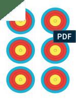 Target 6 - X6 - Practise Targets - 20m