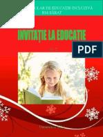 Invitatie le educatie, revista CSEI Rm Sarat, 2014