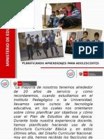 PLANIFICACION+CURRICULAR+SECUNDARIA+COMENTADA