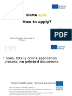 Sigma Agile How to Apply