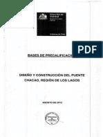 Precalificacion Puente Chacao