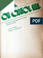 Bibby & Davidson 1972 - On Capitol Hill (2nd Ed) - Chapter 8 - Legislative Reorganization Act