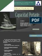 CAPACIDAD PORTANTE UNCP