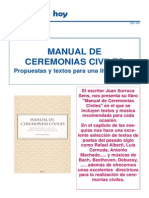 Libros Manual de Ceremonias