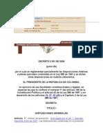 Decreto 2181 de 2006-Planes Parciales