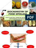 Biochemistry of Food Spolaige