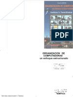 244641036 Andrew S Tanenbaum Organizaciones de Computadoras Un Enfoque Estructurado 4ta SCAN 2000 ESP PDF