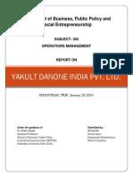 Yakult Danone India Final Printout
