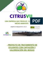 Recuperacion de Energa de Los Efluentes Citrcolas