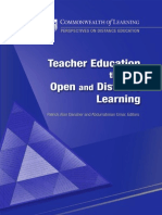 teacher education through distance learning