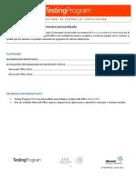 ST-DATP15.02 - Instalar Microsoft Office de Manera Personalizada