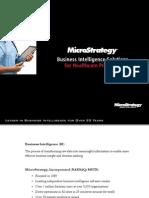 MicroStrategy Mobile Healthcare Providers Brochure