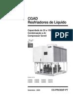 CATALOGO TRANE - Resfriadores de Líquido