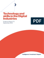 Evidence Report 73 Technology Skills Digital Industries