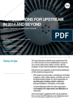 2. Global Upstream Investment Outlook 2014
