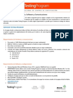 ST-DATP05.02 - Requerimientos de Hardware, Software y Comunicaciones