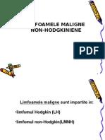 Limfoamele Maligne Non-hodgkin