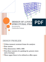 Design of a Four Story Structural Frame