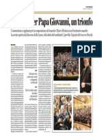 Oratorio Per Papa Giovanni Un Trionfo 23.02.14