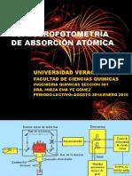 Espectrofotometría de Absorción y Emision Atómica