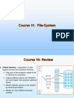 Ch11 File System