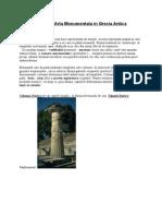 Arta Monumentala in Grecia Antica