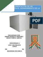 Proyecto Implementacion Cuarto Frio en La Guajira