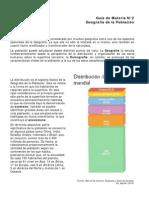 2. Geografía de la Población