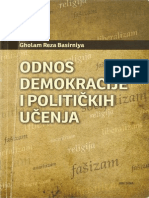 Gholam Reza Basirniya - Odnos Demokracije i Politickih Ucenja (77-102)