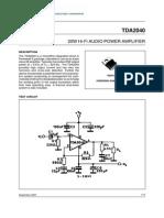 TDA2040V