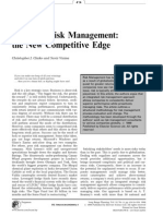 Long Range Planning Volume 32 issue 4 1999 [doi 10.1016%2Fs0024-6301%2899%2900052-7] Christopher J Clarke; Suvir Varma -- Strategic risk management- the new competitive edge.pdf