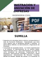 Administracion y Organización de Empresas