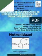 EXPO TECNO III - Metronidazol Crema y Gel