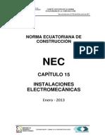 Nec2011 Cap15 Instalaciones Electromecanicas 2013