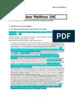 Malthus-Spark Impact Turn