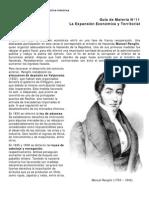 19. La expansión económica y territorial