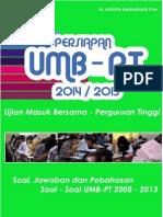 eBook Persiapan UMB-PT 2014 2015 Soal Jawaban Pembahasan