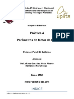 Parametros de Motor C.D.