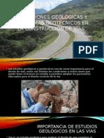 Condiciones Geológicas y Problemas Geotécnicos