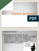 Control en Ventas
