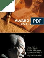 PRESENTACION SOBRE ALVARO MUTIS