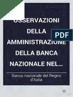 04 - Osservazioni Della Amministrazione Della Banca Nazionale Nel Regno d'Italia